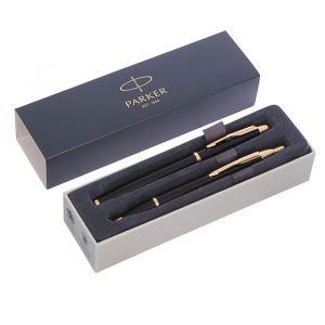 Набор Parker IM Core FK221 Black GT, ручка перьевая, ручка шариковая (2093216)