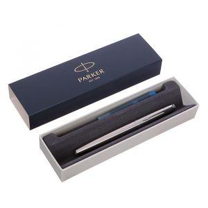 Ручка перьевая Parker Jotter Core F61 Stainless Steel CT M, нержавеющая сталь (2030946)