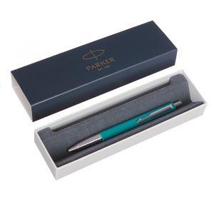 Ручка шариковая Parker Vector Standard K01 Blue Green CT M, синие чернила (2025751)