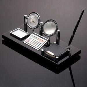 Набор настольный 6в1 (глобус, часы, калькулятор, блок д/бумаги, скрепочница, ручка), 3598552