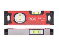 RGK U5020 (200 мм) - уровень строительный цена