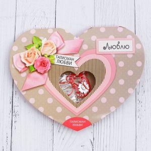 Сердечко с талисманом «Талисман любви»