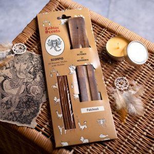 """Ароманабор ароматы зодиаков """"Скорпион"""" (20 палочек с деревянной подставкой) 2358403"""