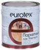 Лак Паркетный Eurotex Premium 0.8л Алкидно-Уретановый Полуматовый / Евротекс Премиум