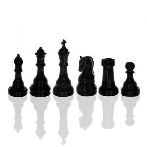 Шахматные фигуры, набор 6 шт., чёрные