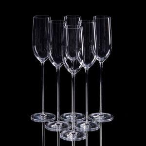 Набор бокалов для шампанского, 6 шт, 240 мл