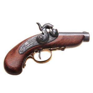 Макет пистолета Генри Дерринджера Philadelphia, США, 1850 г., 11 ? 13,5 ? 11,5 см 192602