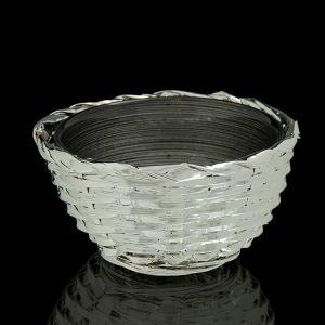 """Чаша """"Плетение"""", черная"""