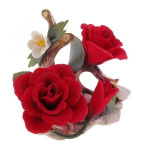 """Декоративная композиция """"Соцветие роз"""""""