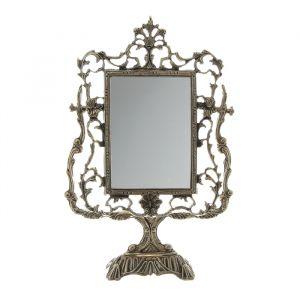 """Зеркало настольное на подставке """"Дамасский узор"""""""