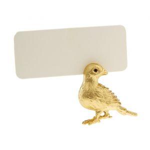 Набор из 6 держателей для карточек Bird