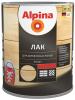 Лак для Деревянных Полов и Паркета Alpina 2.5л Алкидно-Уретанновый Глянцевый, Шелковисто-Матовый для Внутренних Работ