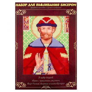 Вышивка бисером «Святой Благоверный Князь Дмитрий Донской», размер основы: 21,5?29