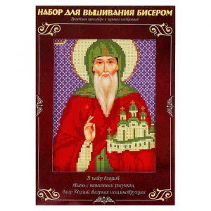 Вышивка бисером «Святой Благоверный Князь Олег», размер основы: 21,5?29 см