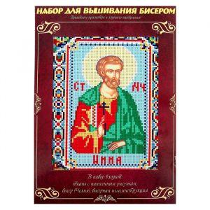 Вышивка бисером «Святой Мученик Инна Новодунский», размер основы: 21,5?29 см