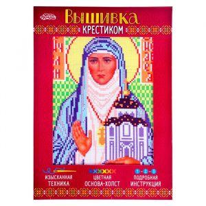 """Набор для вышивания крестиком """"Святая Преподобномученица Великая Княгиня Елисавета""""2055902"""