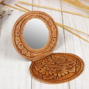 Зеркало на шарнирах, микс, береста 1690424