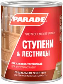 Лак Parade Classic L15 Ступени & Лестницы 0.75л Алкидно-Уретановый, Глянцевый, Бесцветный для Внутренних Работ / Парад Классик L15