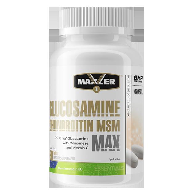 Glucosamine Chondroitin MSM от Maxler 90 таб