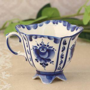 Чашка «Иринка», 8х10х11,5 см, гжель 1236515
