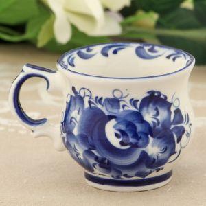 Чашка «Кофейная», 9?9?6 см, гжель 1178776