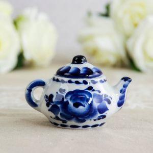 Чайник «Сувенирный», 4?4?6 см, гжель 2357948