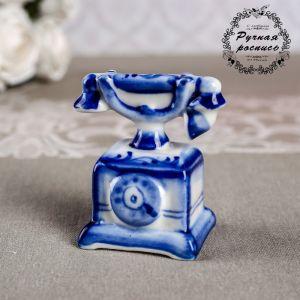 """Сувенир """"Телефон"""", гжель 1177132"""