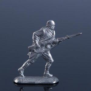 """Оловянный солдатик  """"Красноармеец в бою"""" 1298809"""