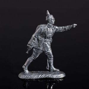 """Оловянный солдатик """"Германский офицер в бою"""" 1316017"""