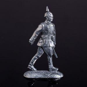 """Оловянный солдатик """"Германский офицер на марше"""" 1316016"""