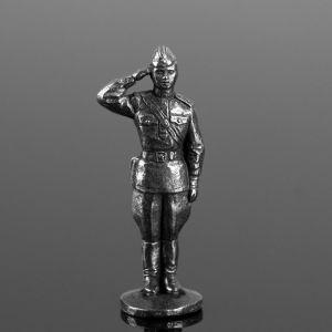 """Оловянный солдатик """"Офицер отдающий честь"""" 1922060"""