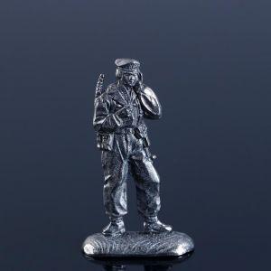 """Оловянный солдатик """"Радист. ВДВ"""" 1383259"""