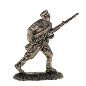 """Оловянный солдатик """"Русский солдат в бою"""""""