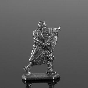 """Оловянный солдатик """"Рыцарь с мечом"""""""