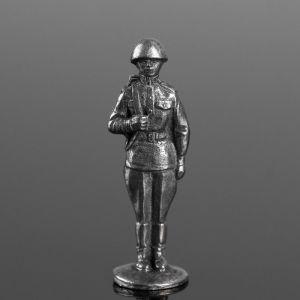 """Оловянный солдатик """"Рядовой в каске"""" 1839529"""
