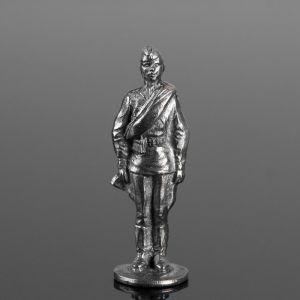"""Оловянный солдатик """"Рядовой со скаткой"""" 1839531"""