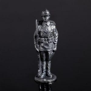 """Оловянный солдатик """"Рядовой. Первомайский парад"""" 2433706"""