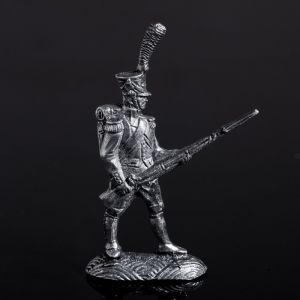 """Оловянный солдатик """"Французский гренадер в атаке"""" 1298819"""