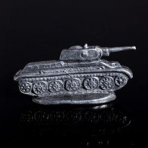 """Сувенир оловянный """"Танк Т-34. Военная техника"""" 1459014"""