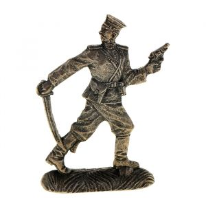"Сувенир солдатик ""Русский офицер"" олово 1033079"