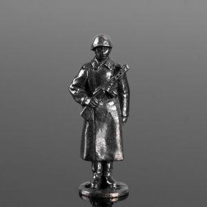 """Сувенир солдатик """"Рядовой в шинели"""" 1922054"""