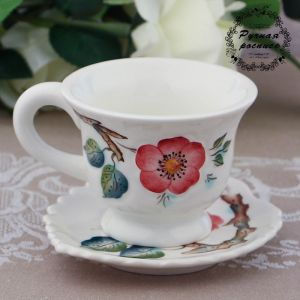 Чайная пара «Вишневый сад», 0,2 л, 14,8?7,9 см, 1 сорт 3284972
