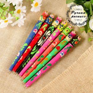 Ручка «Матрёшка», 1,5х16 см, микс 3676465