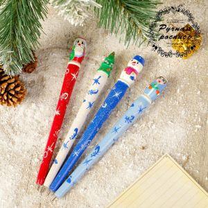 Ручка «Новогодний микс», 1,5х16 см, микс 3676463