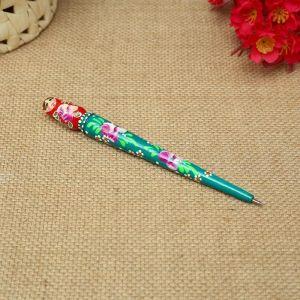 Ручка «Цветочная», 16х1,5 см, ручная роспись 4869998
