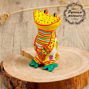 Филимоновская игрушка «Лягушка» 3579650