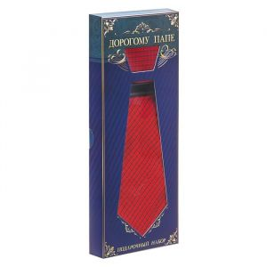 """Подарочный набор: галстук и платок """"Дорогому папе"""" 1536231"""
