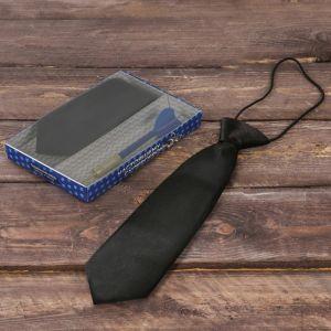 """Подарочный набор: детский галстук и ручка-дротик """"Настоящему супергерою"""""""
