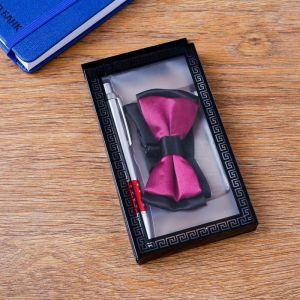 Набор подарочный 2в1 (ручка, бабочка) 4429097