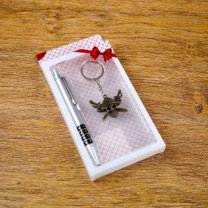 Набор подарочный 2в1 (ручка, брелок Веселый Роджер) 4473249